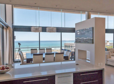 Kitchen to Dining & Views